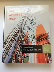 Essentials of corporate finance 8th Edition-Ross Westerfield Jordan Free Ship