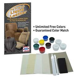 Liquid Leather Repair and Re Color Kit for All Vinyl & Leather Car Seats Boats