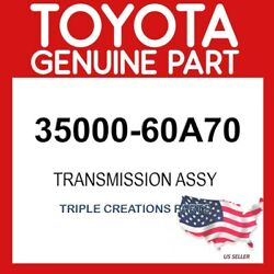 TOYOTA GENIUNE 3500060A70 TRANSMISSION ASSY AUTOMATIC 35000-60A70