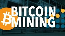 14500 GHs BITCOIN Ƀ 24 Hours Mining Contract - AntMiner S9 Bitmain BTC ASIC $4.99