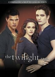 TWILIGHT SAGA COMPLETE 5 MOVIE COLLECTION New DVD New Moon Eclipse Breaking Dawn