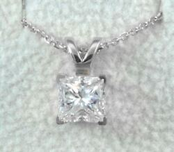 Diana Rafael 2.75 Carat Diamond Pendants 14K White Gold