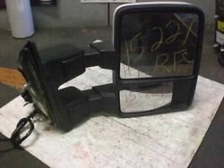PASSENGER RIGHT SIDE VIEW MIRROR FITS 09-10 FORD F250SD PICKUP 648787