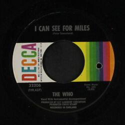 WHO: I Can See For Miles Mary anne With The Shaky Hands 45 co Rock amp; Pop $12.00