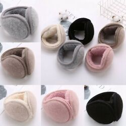 Women Men Winter Warm Unisex Plush Earmuffs Ladies Comfort Ear Warmers Muffs