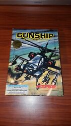 1986 Gunship The Attack Helicopter Simulator by Micro Prose IBM PC $24.99