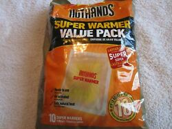 Hot Hands Body And Hand Super Warmer 10 Pad Value Pack