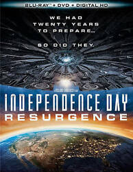 Independence Day: Resurgence (Blu-ray 2016) DISC ONLY $4.95