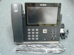 Yealink SIP T48G Touch Screen Gigabit IP POE Ultra Elegant Phone Stand