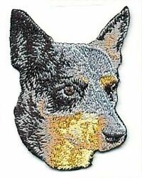 2.75quot; Australian Cattle Dog Breed Embroidery Patch $2.99