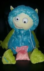 Scentsy buddy gilly Dragon alien monster plush doll sweet pea vanilla scent pack
