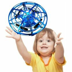 Infraed Induction Aircraft Mini RC Drone UFO Ball LED Helicopter Toys For Kids $18.99
