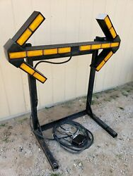 Whelen Large Lighted Traffic Directional Arrow - Commercial Work Truck