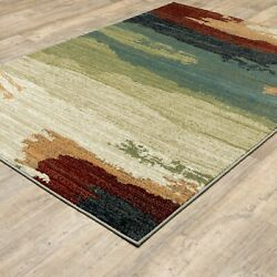 Contemporary Rustic Abstract Transitional Area Rug **FREE SHIPPING** $199.00