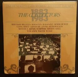 100 Years Of Great Artists At The Met  THE CONDUCTORS  2 LP  MET 408 (SEALED) $13.97