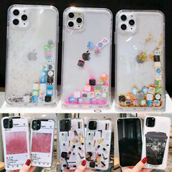 Glitter Liquid Quicksand Cute Phone Case Cover For iPhone11Pro 8Plus XR XsMax $7.33