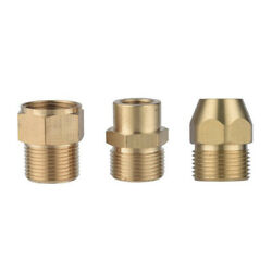 Pressure Washer High Pressure Adapter Fit for Brass Male Female Pipe Thread $7.70