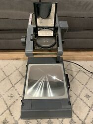vintage 3m 2000ag portable overhead projector working with extra bulb