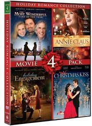 HOLIDAY ROMANCE COLLECTION 4 MOVIE PACK DVD Christmas Kiss Holiday Engagement $10.34
