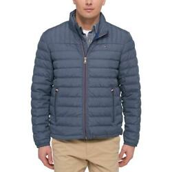 Tommy Hilfiger Mens Winter Quilted Down Packable Coat Outerwear BHFO 7900