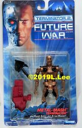 Kenner 1991 The Terminator 2 Future War Metal-Mash MOC nice rare