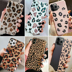 For iPhone 11 Pro Max 8 Plus 7 XS Max XR Leopard Print TPU Protective Case Cover $7.93