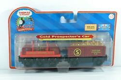 THOMAS amp; Friends Wooden Railway Gold Prospector#x27;s Car 99177 New Free Shipping $19.95