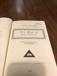"Samuel Butler ""The Way Of All Flesh"" From Exeter College (Oxford) Library"