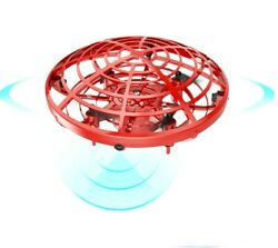 Mini Drone Smart UFO Aircraft for Kids Flying Toys RC Hand Control Gift US 360° $13.99