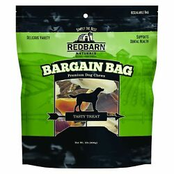 Redbarn Naturals Bargain Bag with Variety for Treats for Dogs 2 Pounds $19.27