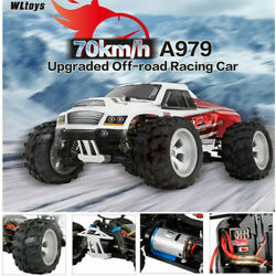 WLtoys A979 B 2.4G 1 18 4WD 70KM H High Speed Electric RC Car RTR Truck Xmas USA $78.99