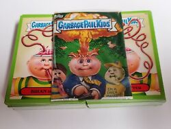 Garbage Pail Kids - 2015 Series 1 Green Border - Complete Set - 132 Cards NM-MT $29.95