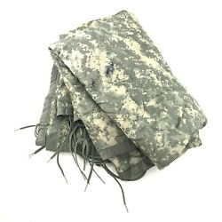 US Military All Weather Poncho Liner ACU Camo Woobie Blanket Camping DEFECT $23.99
