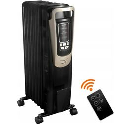 Pelonis Oil Filled Radiator Portable Space Heater with Programmable Thermostat $69.99