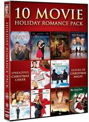 10 MOVIE HOLIDAY ROMANCE PACK New DVD Christmas Kiss Engagement Mrs Santa Claus $27.94