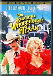 BEST LITTLE WHOREHOUSE IN TEXAS New DVD Dolly Parton $6.96