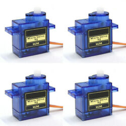 4PCS Micro 9G SG90 RC Servo Motor Gear Set For RC Helicopter Airplane Boat Car $4.99