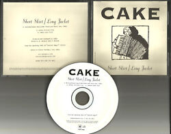 Cake Short Skirt Long Jacket USA RARE EDIT PROMO DJ RADIO CD Single 2001 MINT $24.99