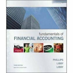 Fundamentals of Financial Accounting - Text only  $7.22