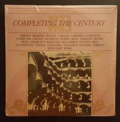 100 Years Of Great Artists At The Met  COMPLETING THE CENTURY  2 LP  (SEALED) $13.97