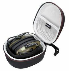 Electronic Ear Muffs Noise Cancelling Impact Shooting ShockProof Protection Case $14.29