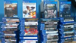 PS4 GAMES HUGE SELECTION & COLLECTION PRE-OWNED NICE CONDITION QUICK FREE SH $29.99