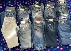 Miss Me Silver Rock Revival Big Star womens jeans $250.00