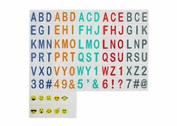 Room Essentials Light Box Letters Alphabet with Emojis DIY Message 100 Count $9.99