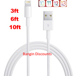 OEM for Apple Lightning USB Charger Cable For iPhone 6 7 8 X XR 11 3ft 6ft 10ft $4.99