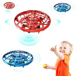 360° Mini Drone Smart UFO Aircraft for Kids Flying Toys RC Hand Control LED Gift $15.99