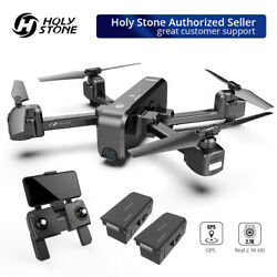 Holy Stone HS270 GPS Drone 2.7K FHD camera 5G FPV foldable quadcopter 2 battery $189.99