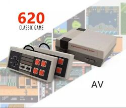 Retro Game Console 620 Built-in MINI Classic NES Games with 2 Controllers HDMI $19.97