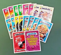 2016 Garbage Pail Kids New Hampshire President Candidate Online Exclusive $124.95