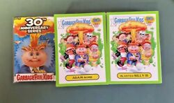 2016 Garbage Pail Kids 30th Anniversary Green Border Set : Fresh Packed Rare  $119.95
